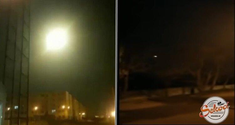 Verifikasi Video Detik-detik Pesawat Ukraina Internasional Meledak di Iran